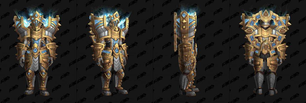 Wow pactos de las Tierras Sombrías armadura kyrians plate wowhead