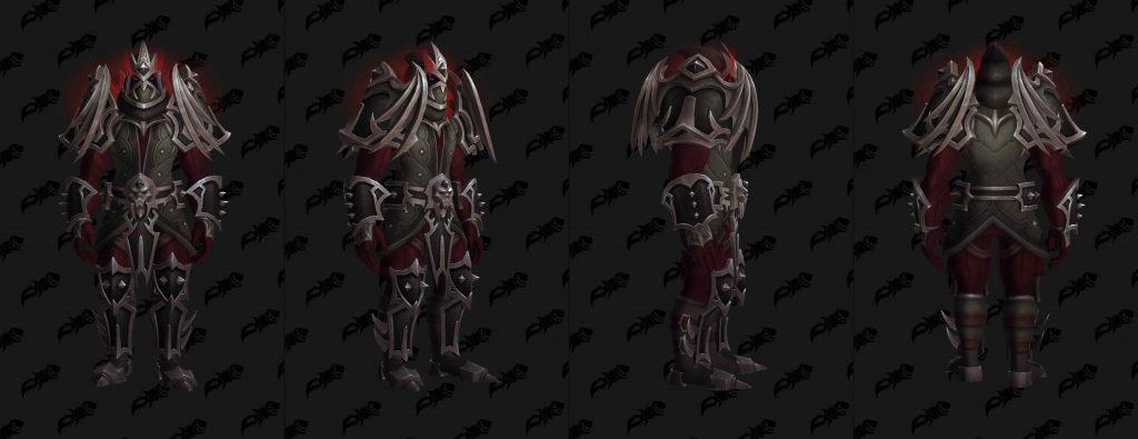 WoW Shadowlands pacts armadura venthyr cuero wowhead