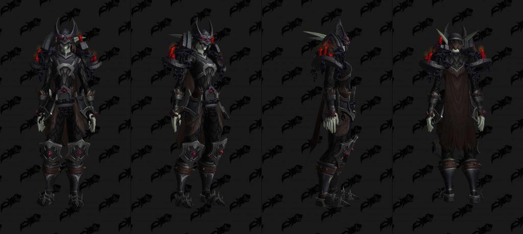 WoW Shadowlands pacts armadura venthyr cadena wowhead