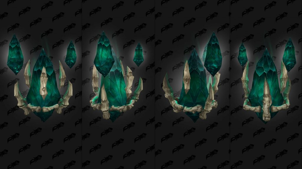 WoW Shadowlands Pacts Armadura Necrolords Backs 3 wowhead