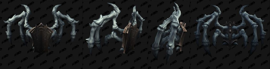 WoW Shadowlands Pacts Armor Necrolords Backs 2 wowhead