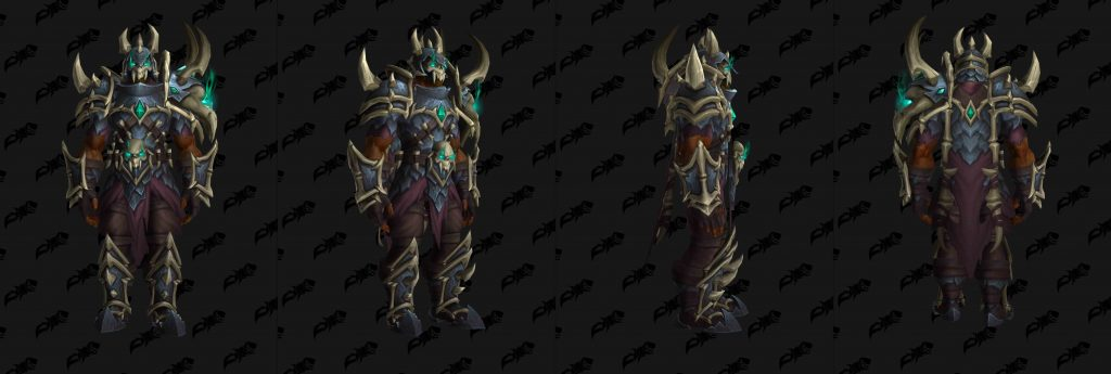 WoW Shadowlands pacts armadura Necrolords cadena wowhead