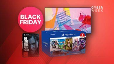 Amazon Black Friday: PS VR, juegos de PS4 y televisores 4K a la venta