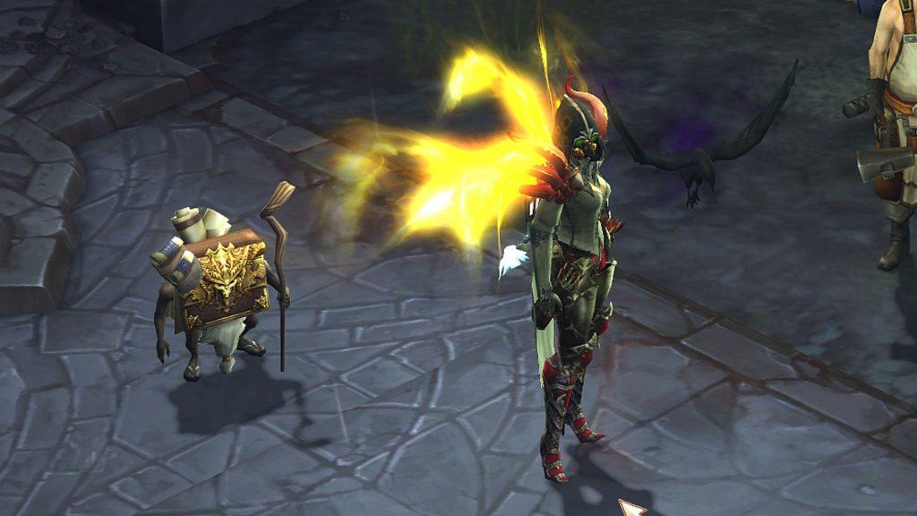 Diablo 3 Season 22 Cain Chronic en el juego