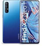 Teléfono inteligente OPPO Find X2 Neo (16,5 cm (6,5 pulgadas)) Memoria interna de 256 GB, 5G, 12 GB de RAM, 4260 mAh con carga de flash de 30 W, cámara AI cuádruple de 48 MP, diseño ultradelgado, pantalla curva - Starry Azul