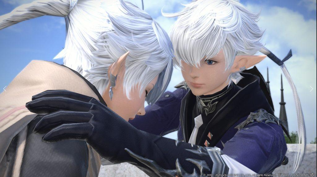 final fantasy xiv parche 5.4 gemelos