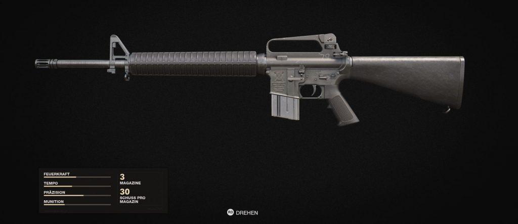 bacalao frío era armas rifles tácticos m16
