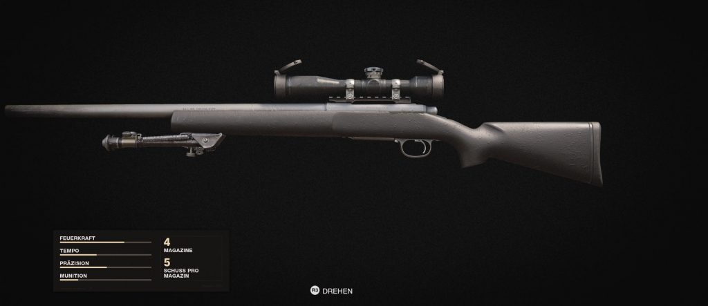 bacalao frío era armas francotirador pelington
