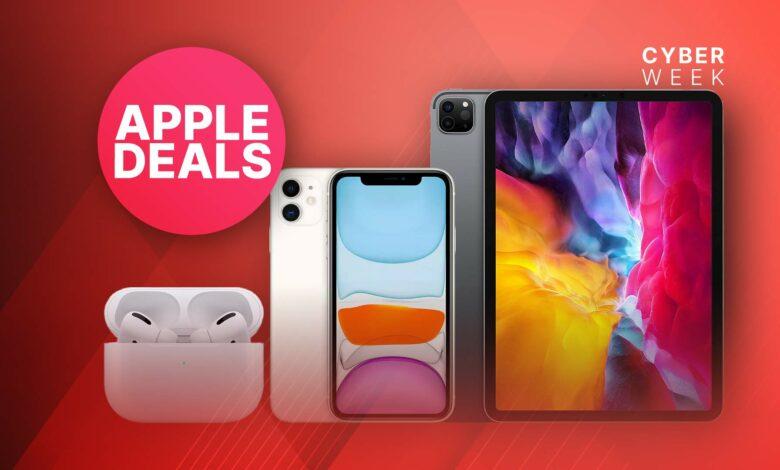 Apple Black Friday: las mejores ofertas en iPhone, AirPods y iPad