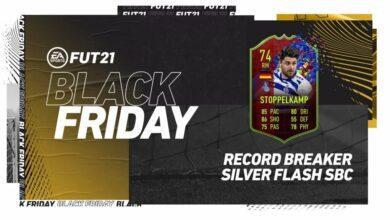 FIFA 21: SBC Moritz Stoppelkamp Record Breaker Silver Stars Flash - Requisitos y soluciones