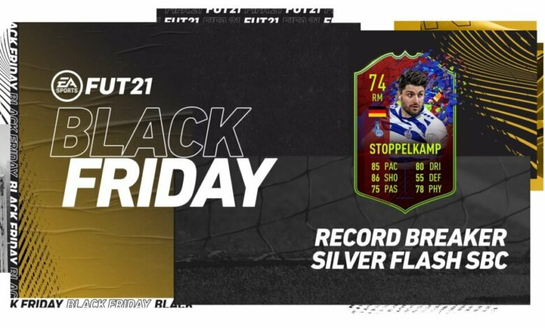 FIFA 21: SBC Moritz Stoppelkamp Record Breaker Silver Stars Flash - Requisitos y soluciones