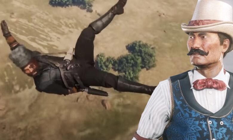 RDR 2: Crazy Bridge Glitch catapulta a los jugadores a lugares inalcanzables