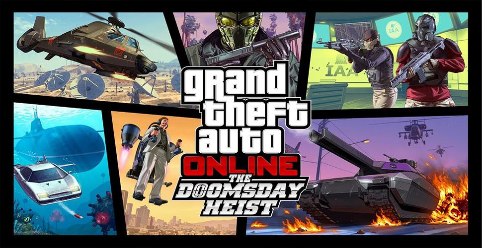 Título de GTA 5 Online Doomsday