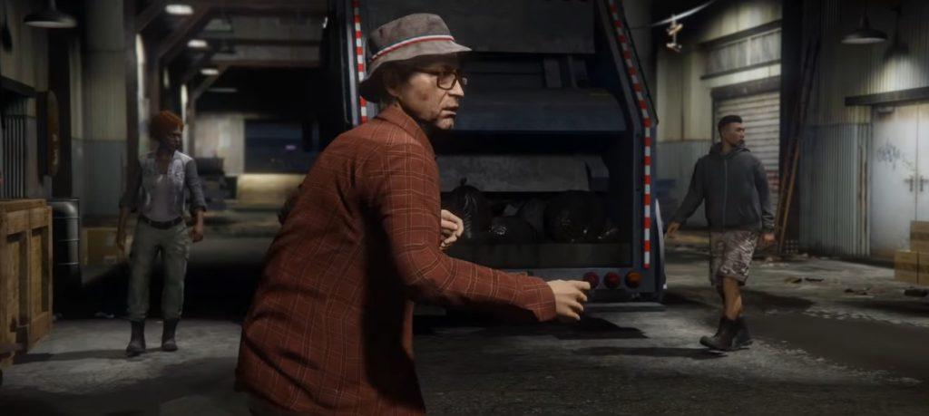 Camión de basura de GTA Online