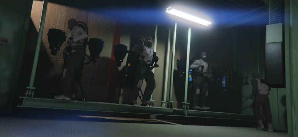 Jetpack de tripulación de GTA Online