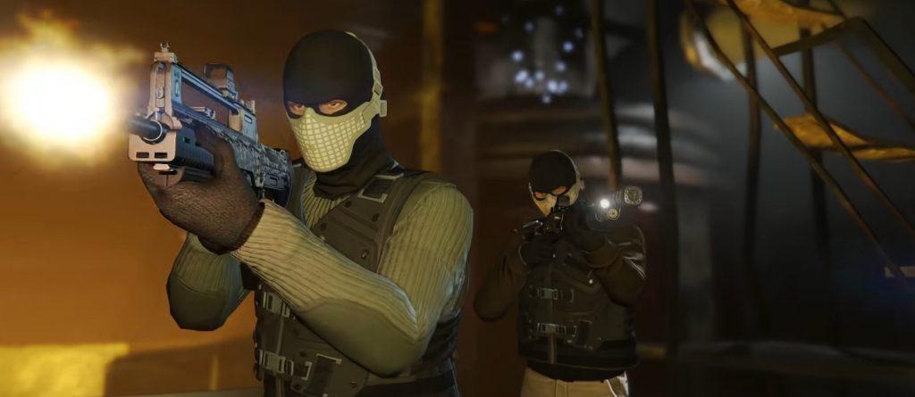 Ataque de armas de GTA Online