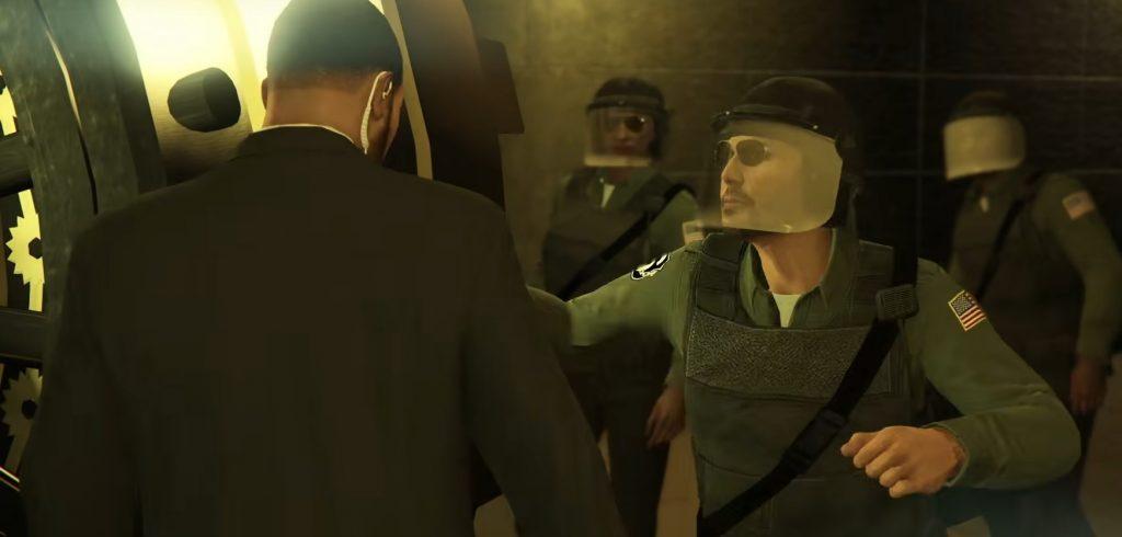 Policía de atracos de casino de GTA Online