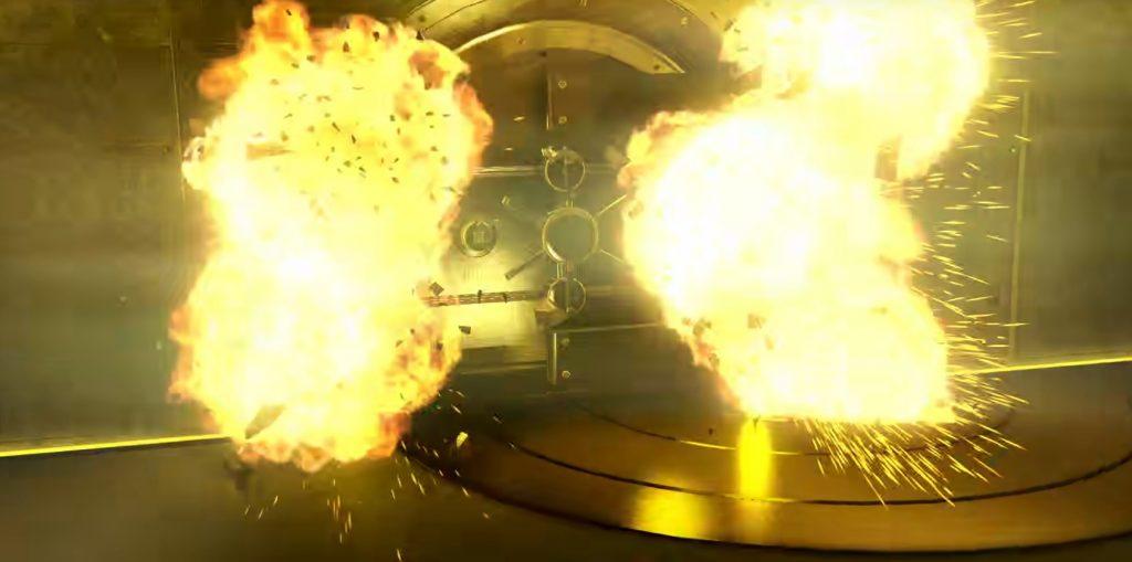 GTA Online Casino Heist Vault Boom