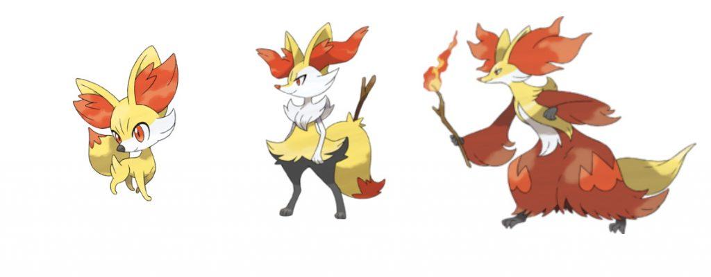 Pokémon GO de la familia Fynx