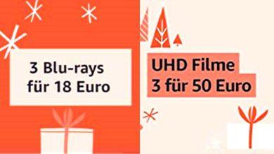 3 por 17,55 euros: películas en Blu-ray en tres packs a precio reducido en Amazon