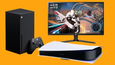 7 monitores de juegos para aprovechar al máximo su PS5 y Xbox Series X