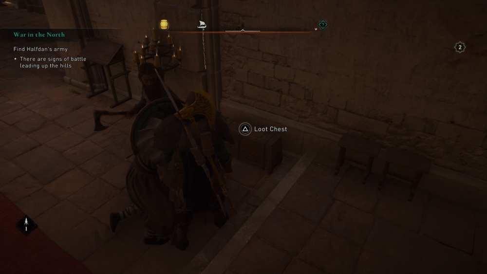 Tela Assassin's Creed Valhalla
