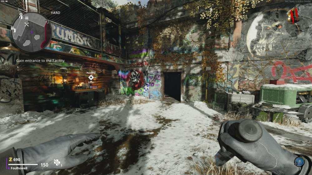 Primera puerta para comprar para acceder a energía en Black Ops Cold War Zombies