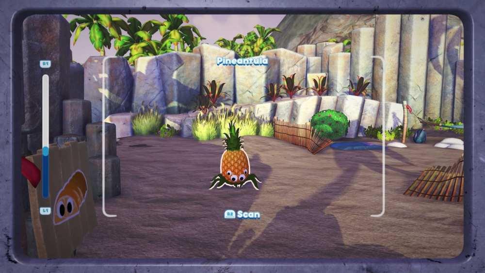 cómo atrapar una Pineantula en Bugsnax