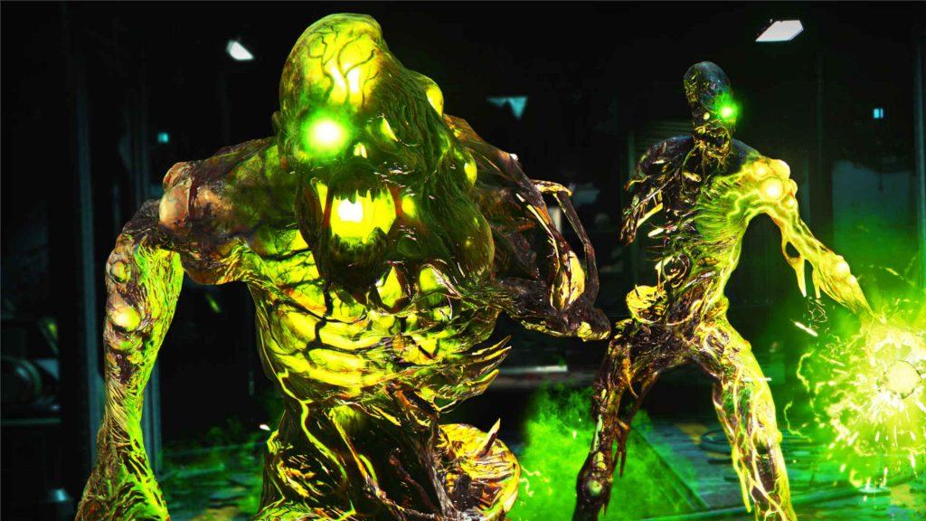 bacalao frío eran zombies las bestias verdes repugnantes