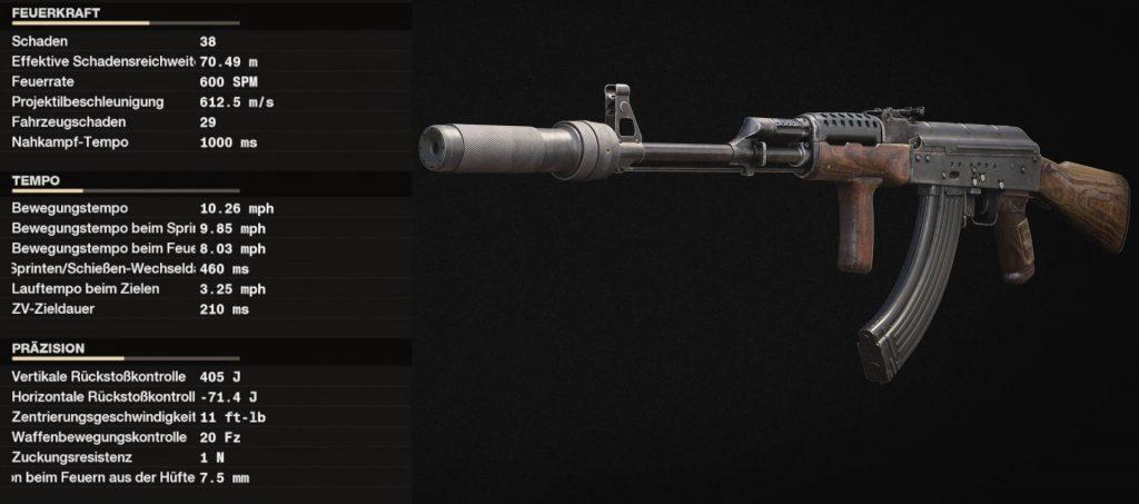 cod cold fue la mejor arma con setup ak-47