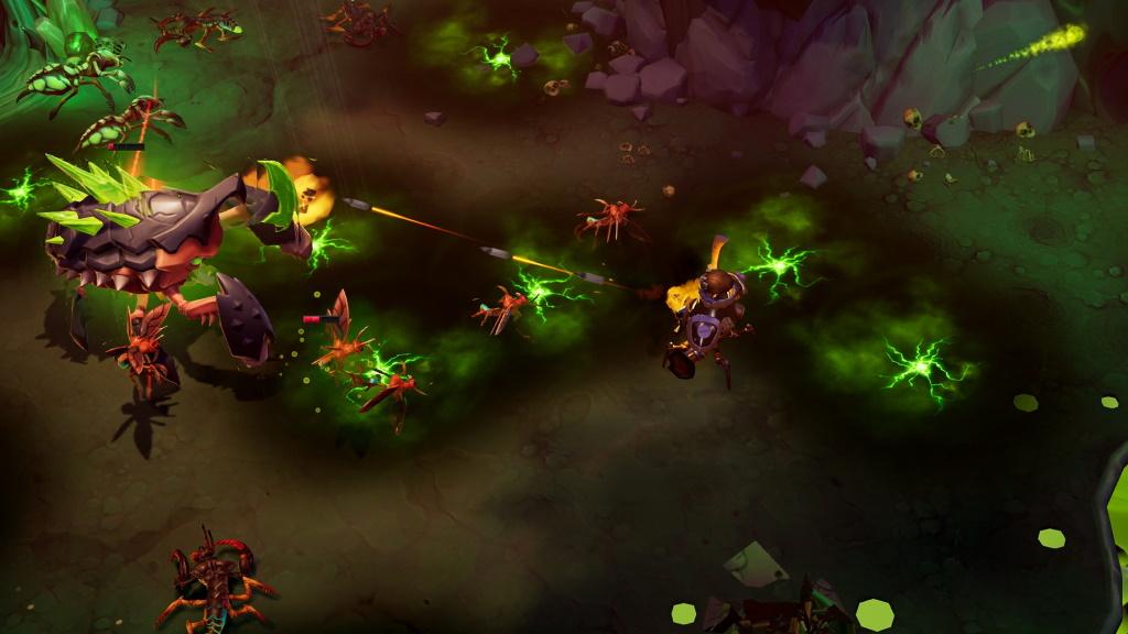 Captura de pantalla de Torchlight 3