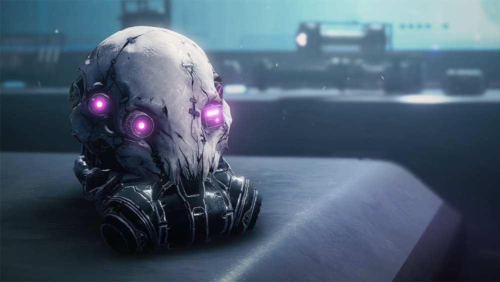 Casco de cazador exótico Bakris Mask, Destiny 2 Beyond Light