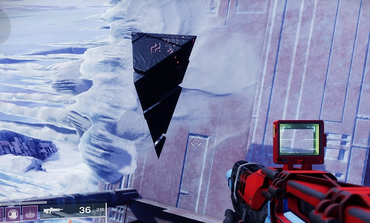 Entropic Bruchsück Shard Destiny 2 Beyond Light Europa