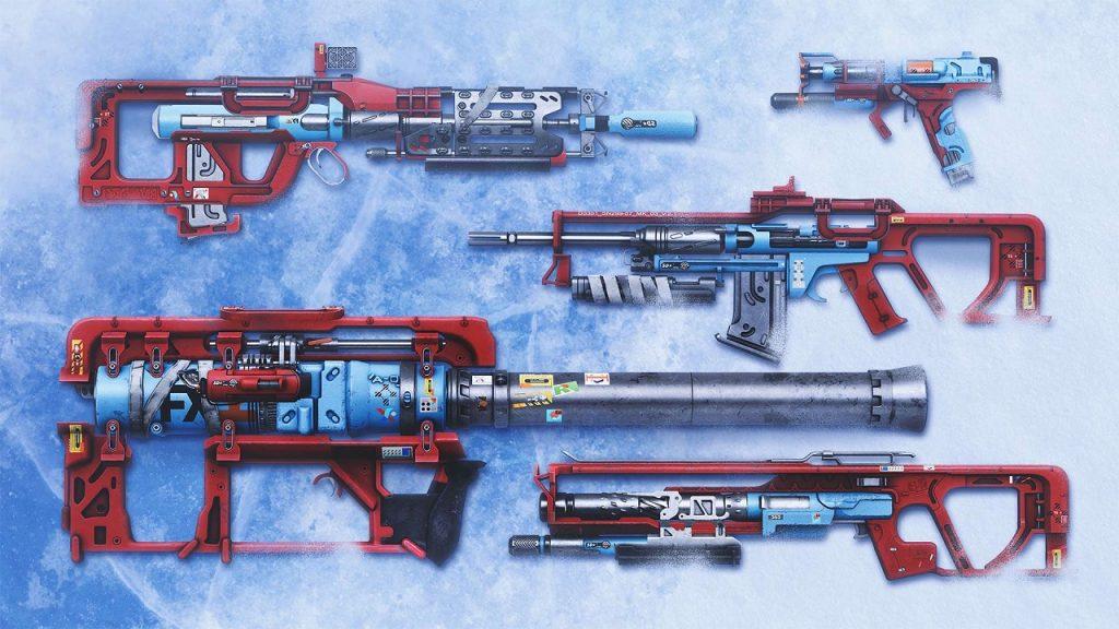 Weapons Beyond Light Destiny 2 Título de Europa