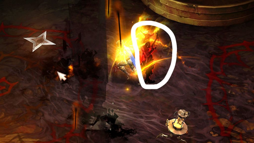Generación de clones de sombras de Diablo 3