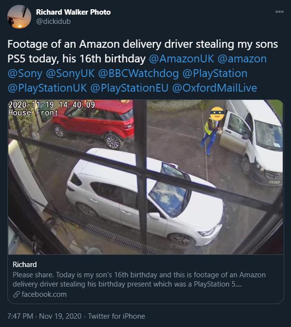 Robo de Amazon