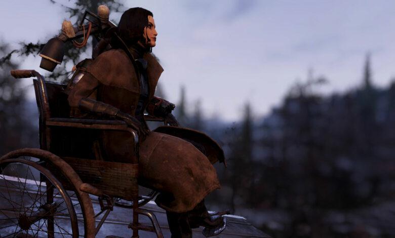 """El jugador paralizado quiere """"una parte de sí misma"""" - Fallout 76 reacciona"""
