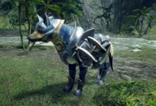 Photo of El video y la obra de arte de Monster Hunter Rise muestran a Palamute, Palico y Hunter Armor