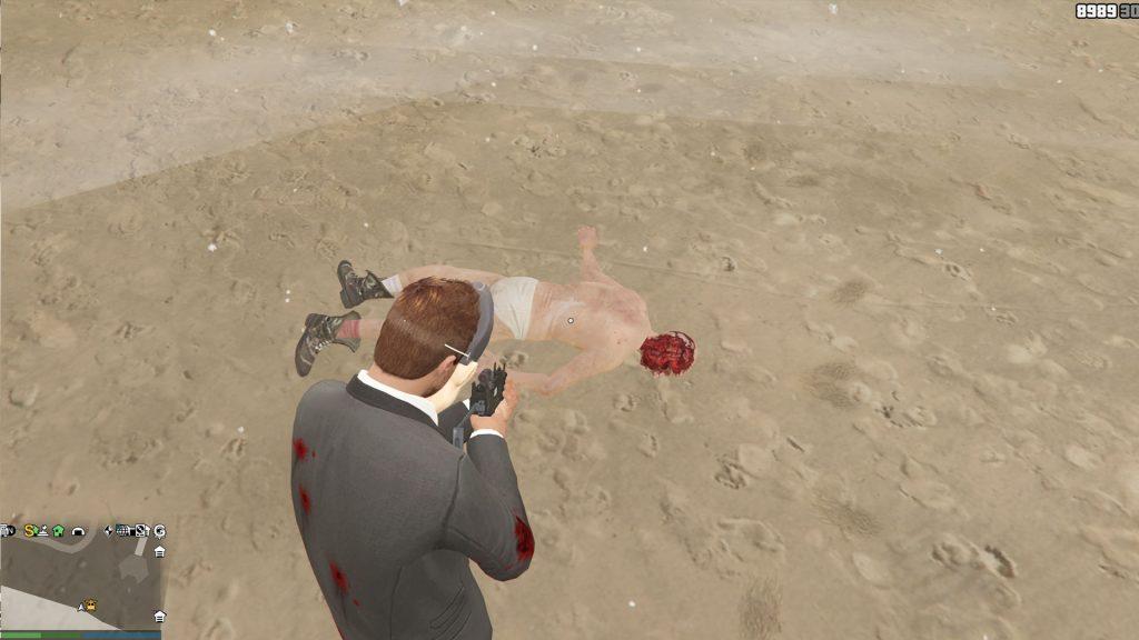 GTA Online Corpse Beach Face