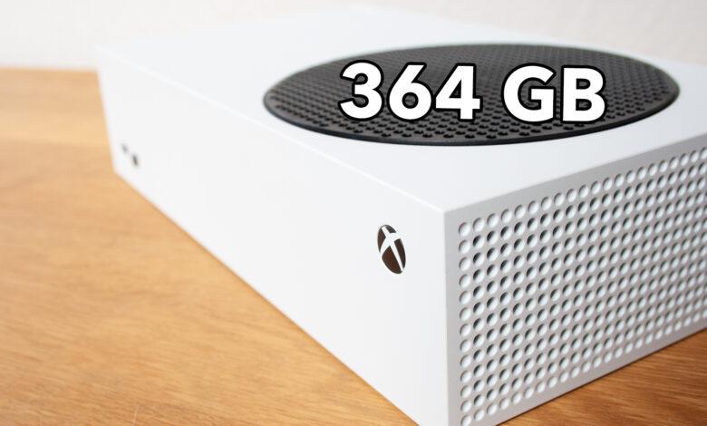 Es por eso que el pequeño disco duro de la Xbox Series S no es tan malo como crees