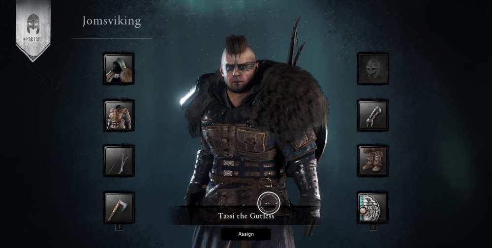 Assassin & # 39; s creed valhalla jomsviking, multijugador ac valhalla