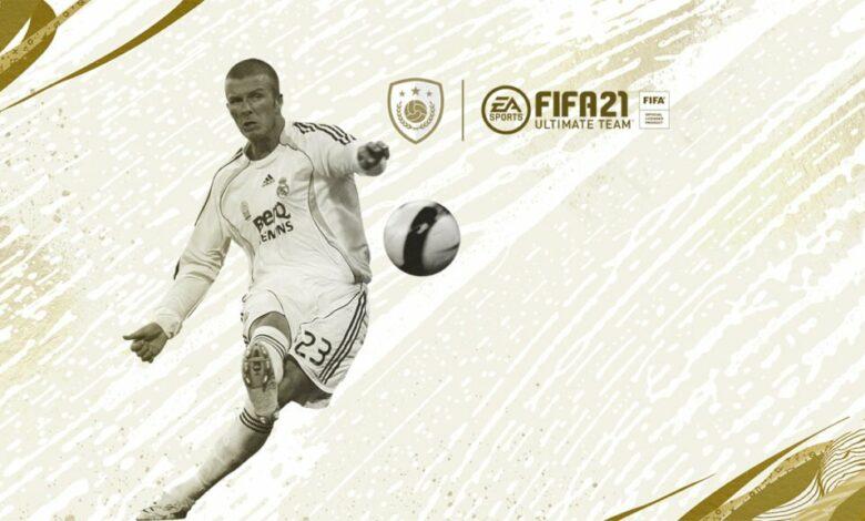 FIFA 21: ¿Llegarán las Icon Cards de David Beckham?
