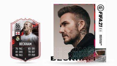 FIFA 21: Anunciado el regreso de David Beckham - Cómo canjear la tarjeta especial por FUT 21