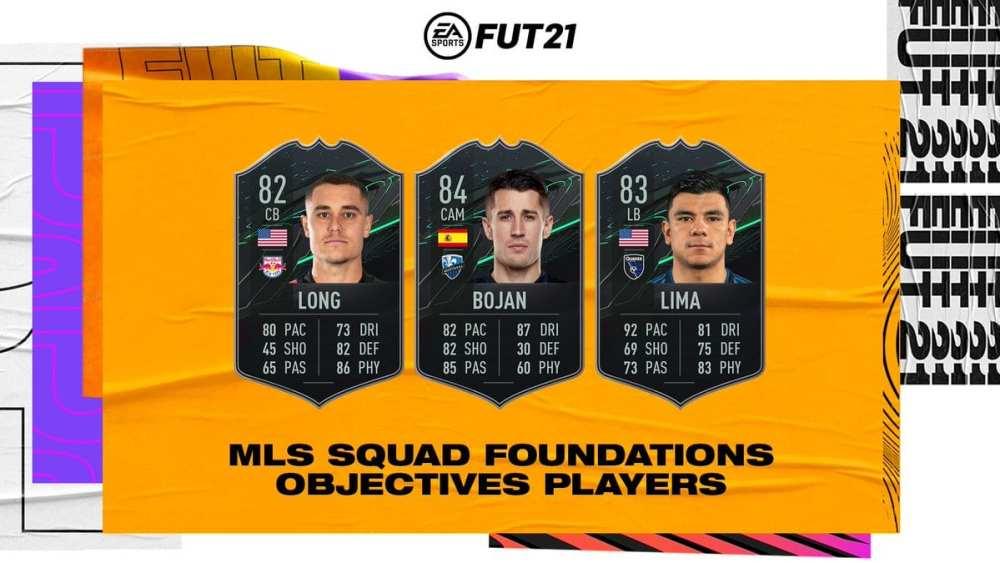 FIFA 21, objetivos de los cimientos de la plantilla de la mls