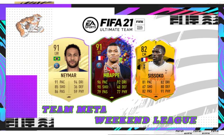 FIFA 21: Equipo competitivo de la liga de fin de semana de FUT Champions - Jugadores de forma y meta