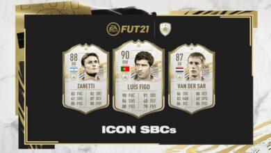 FIFA 21: Figo, Zanetti y Van Der Sar SBC Icons disponibles