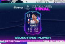 FIFA 21: Goles Jules Kounde Road To The Final - Se anuncia una nueva tarjeta especial