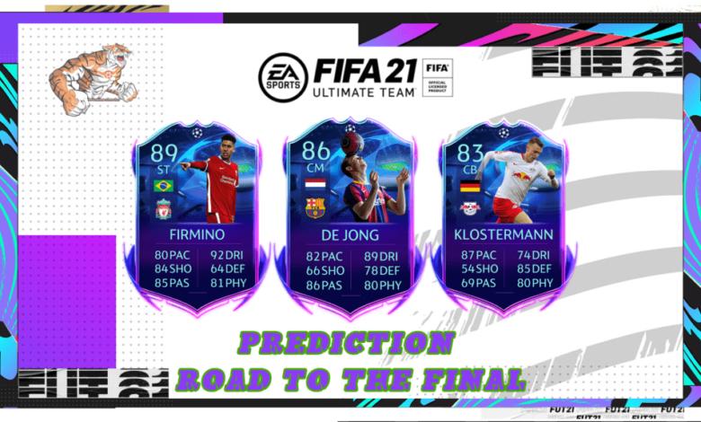 FIFA 21: Predicción RTTF - El camino hacia la final