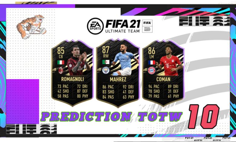 FIFA 21: Predicción TOTW 10 del modo Ultimate Team