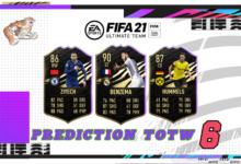 FIFA 21: Predicción TOTW 6 del modo Ultimate Team